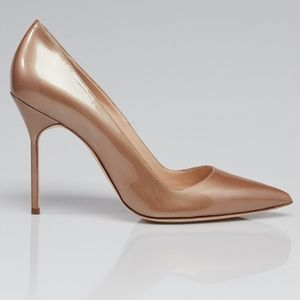 Manolo Blahnik *Pearly Patent* Pump